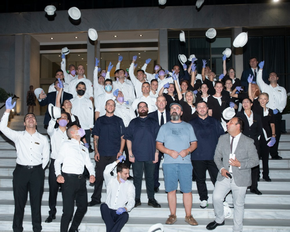 Chapeau στην εξαιρετική ομάδα του Makedonia Palace για την υποστήριξη μιας αλησμόνητης βραδιάς!