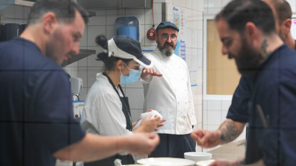 Ο  executive chef του «Makedonia Palace», Σωτήρης Ευαγγέλου